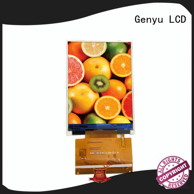 Genyu price-favorable tft lcd display modules suppliers for equipments