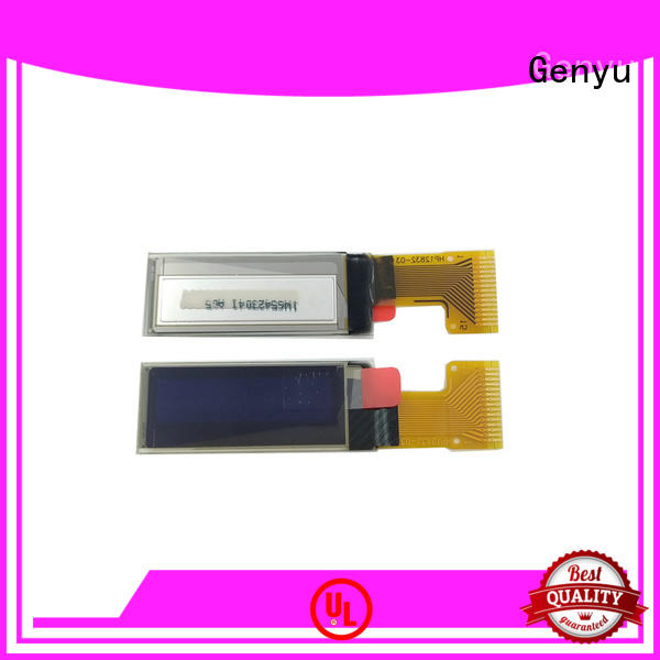 Genyu lcd lcd oled display suppliers for instruments