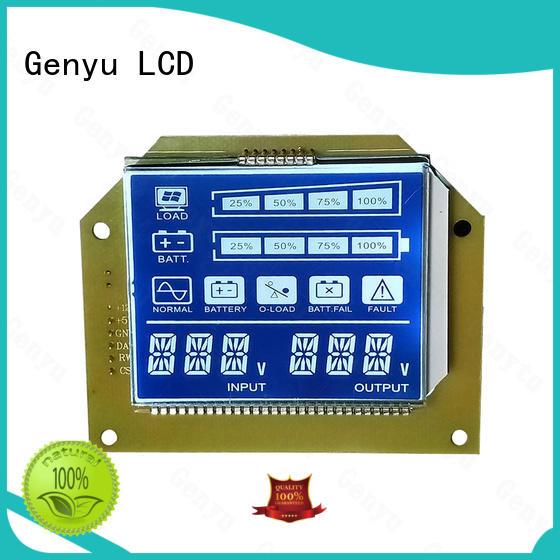 Genyu Latest custom size lcd manufacturers for instrumentation