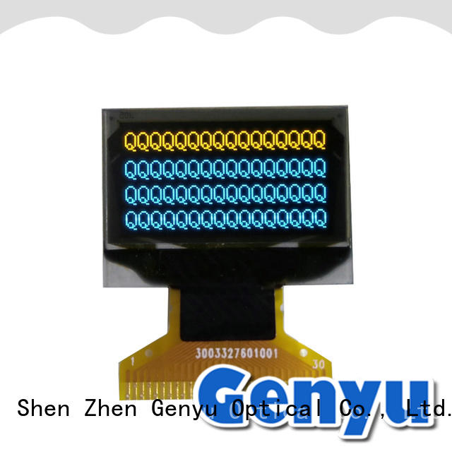 matrix Band OLED screen for medical equipment Genyu