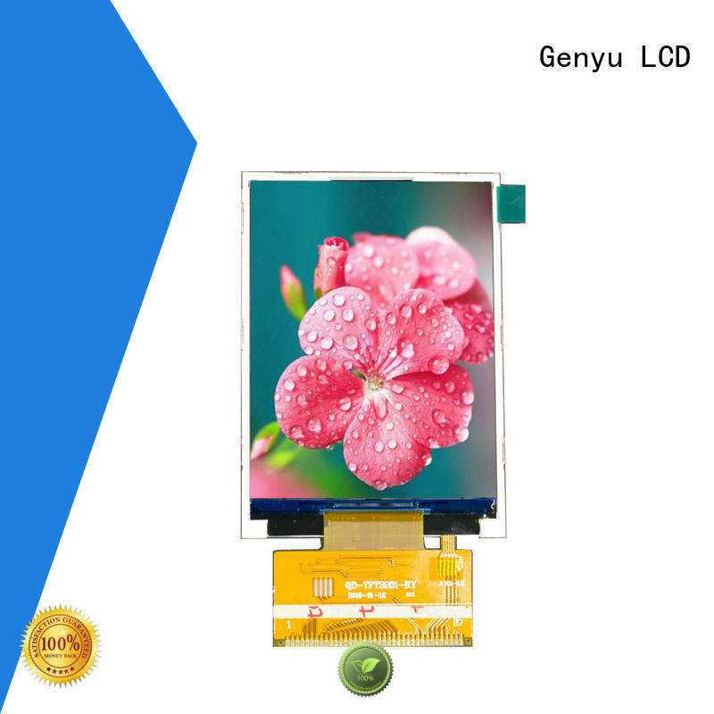 Genyu quality-reliable tft display module factory for equipments