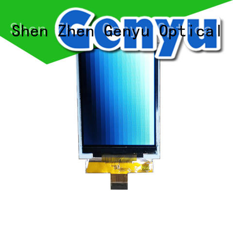 Genyu fast dispatch RGB LCD Module quality-reliable for automobile