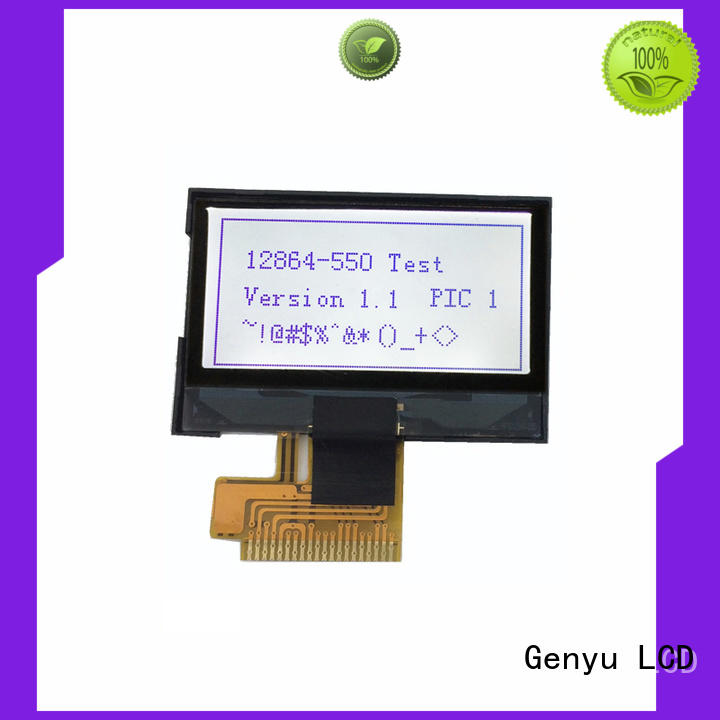Genyu monochromatic graphic lcd display suppliers for equipment