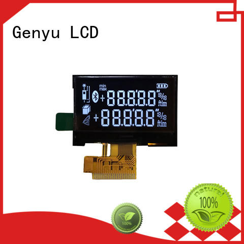 Custom segment lcd display gy1037 company for meter