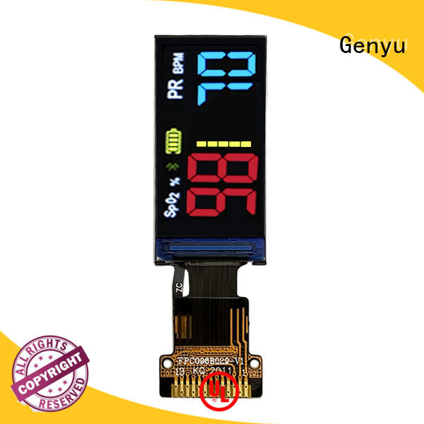 Genyu new tft lcd company for instruments