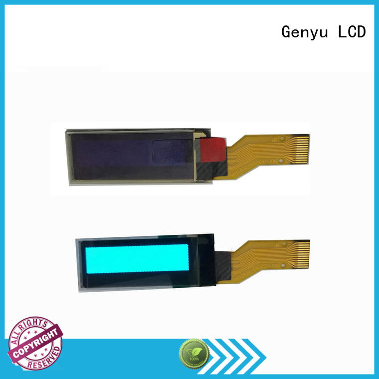 Genyu watch oled display modules factory for instruments