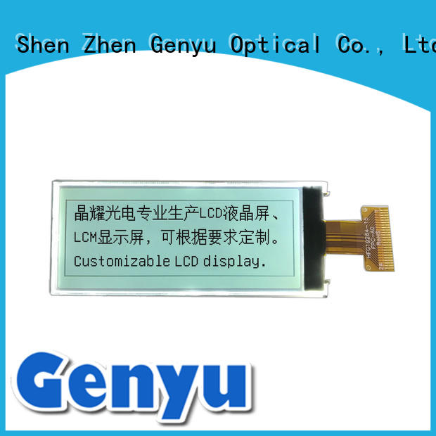 128x64 dot matrix lcd manufacturer for smart home Genyu
