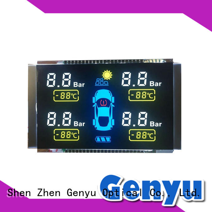 Genyu new design customized lcd display screen laser for video