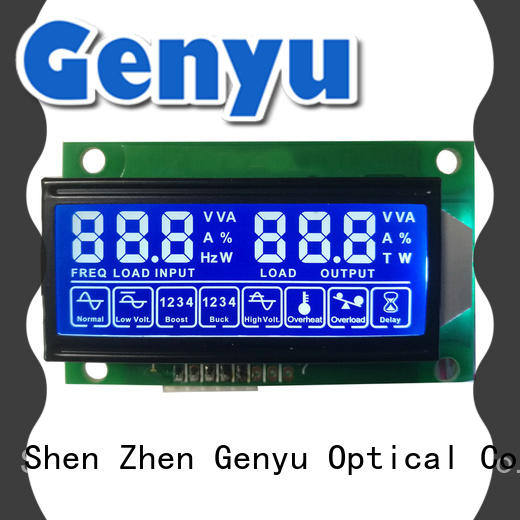 Genyu custom segment lcd module factory gy5626a01 for POS