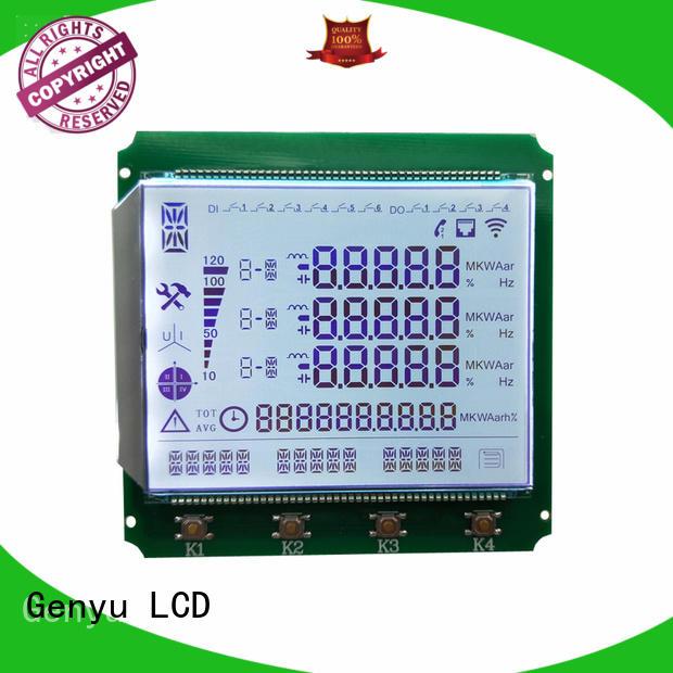 Genyu gy03836nm 7-segment lcd display company for medical