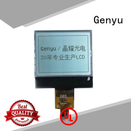 Genyu 128x128 12864 lcd suppliers for industry