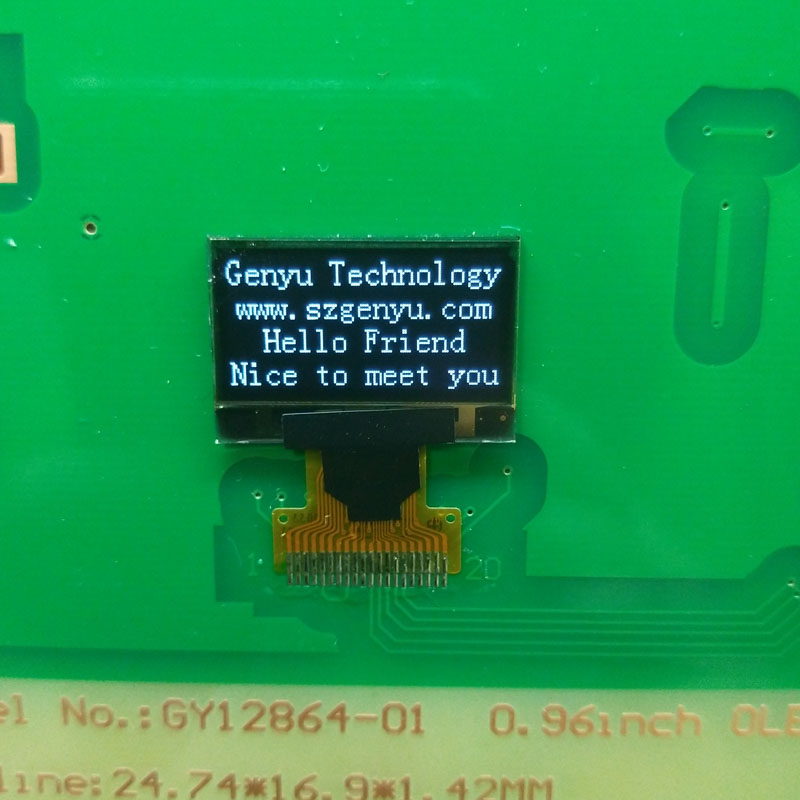 Genyu Latest oled screen display for sports watch-2