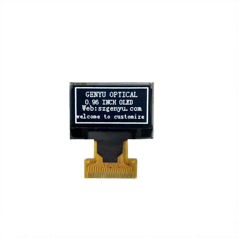 Monochrome White Colour OLED Panel 0.96