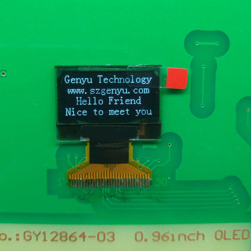 0.96 OLED 128x64 graphic oled display for smart watch