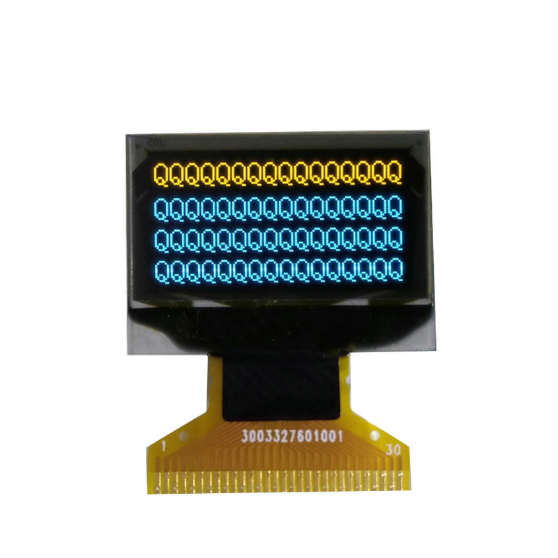 Yellow & Blue Two Color LCD Screen 0.96 inch 128x64 OLED Display Manufacturer