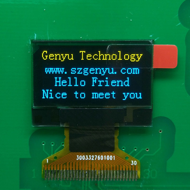 Genyu Top oled lcd for hardware wallet-1