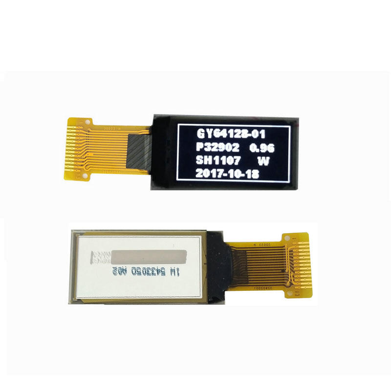 Genyu yellow oled lcd module for business for sports watch