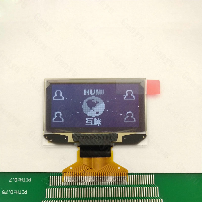 1.3 inch Monochrome OLED White 128x64 Graphic OLED Display Factory