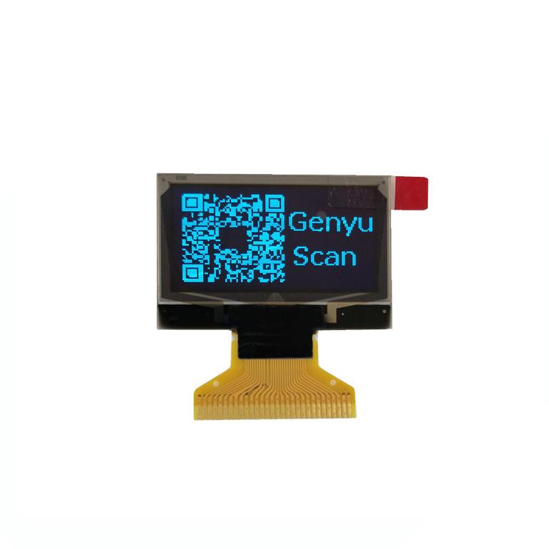 OLED display manufacturer Blue 128x64 dot 1.3 inch OLED Supplier