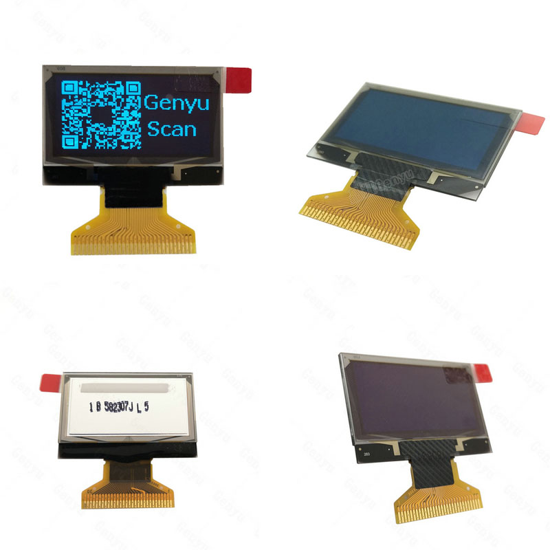 Latest oled display modules blue factory for smart home-1