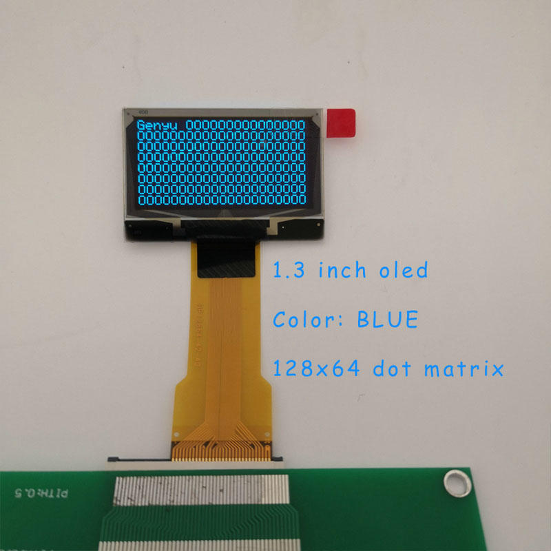 128x64 White OLED 1.3 inch Monochrome OLED Manufacturer & Supplier