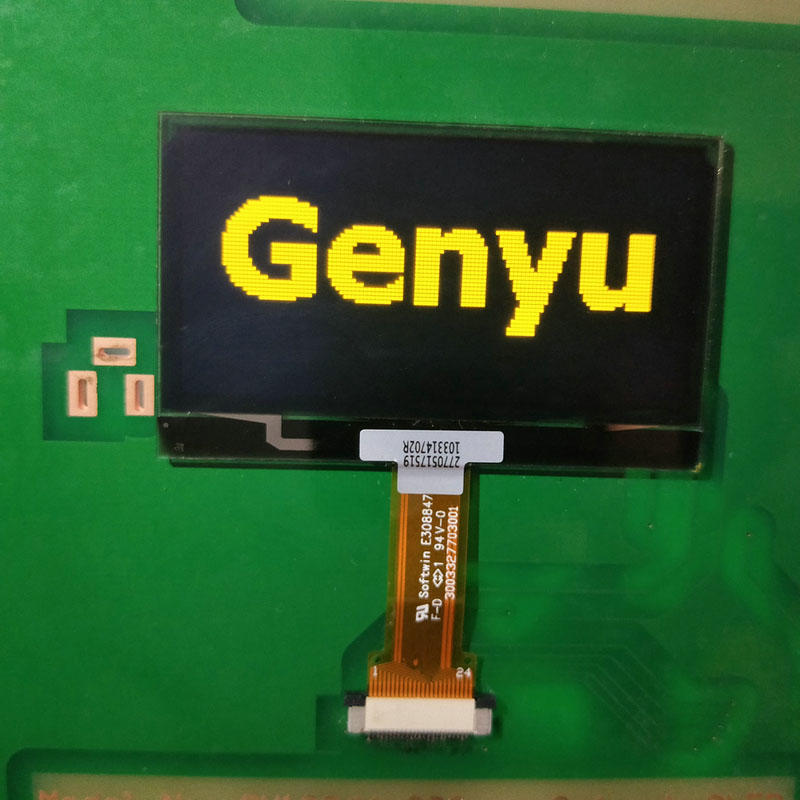 128x64 OLED Graphic Display 2.4inch Yellow OLED Manufacturer & Supplier