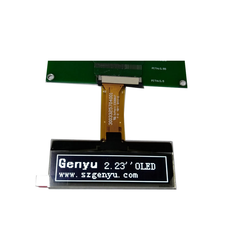 Genyu small oled lcd module manufacturers for hardware wallet-1
