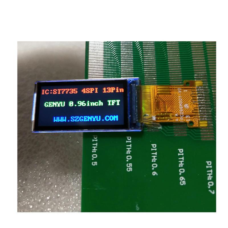 Best TFT display 0.96 inch 80*160 Pixels TFT LCD Module Manufacturer & Supplier