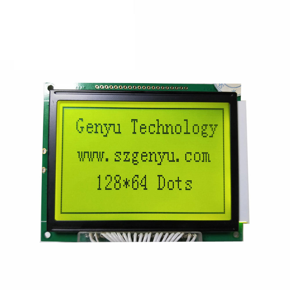 12864 COB LCD module 128x64 Graphic liquid crystal display manufacturer
