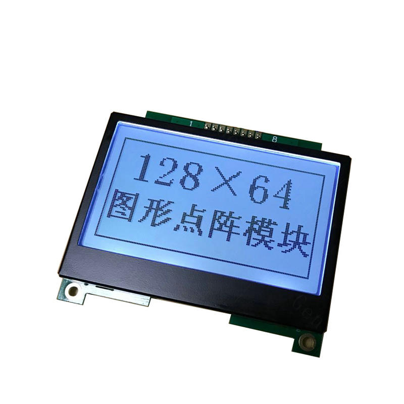 128x64 COB Monochrome Graphic LCD Modules 12864 Screen
