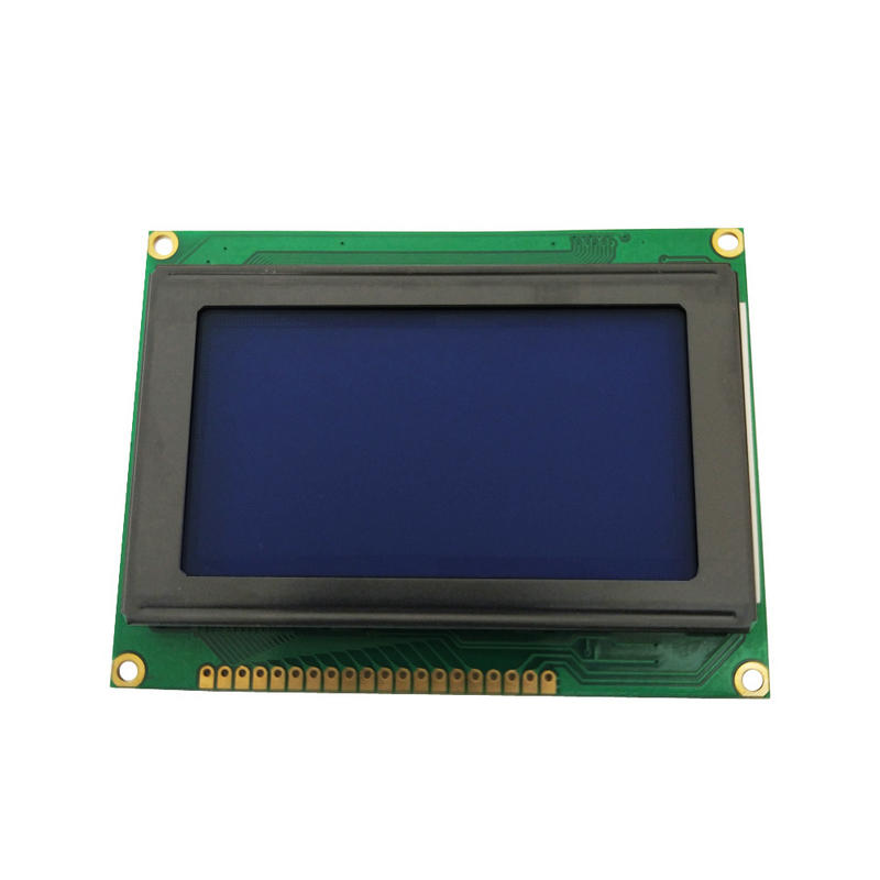 Genyu Mono Graphic COB display 128*64 lcd module LCM with Blue/Yellow-Green Color