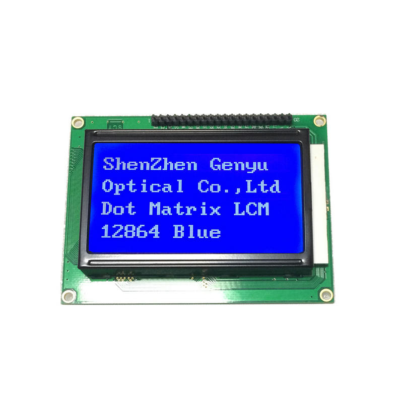 Genyu LCD COB 128x64 Graphic LCD Modules 3.3V/5V Display STN 12864 LCD Screen