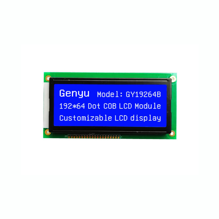 Genyu 19264 LCD Screen 192x64 Dots Full Graphics COB Type LCD Module (GY19264B)