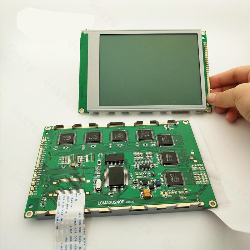 Genyu Monochrome 320240 LCD Module STN Blue 320x240 COB LCM Screen display