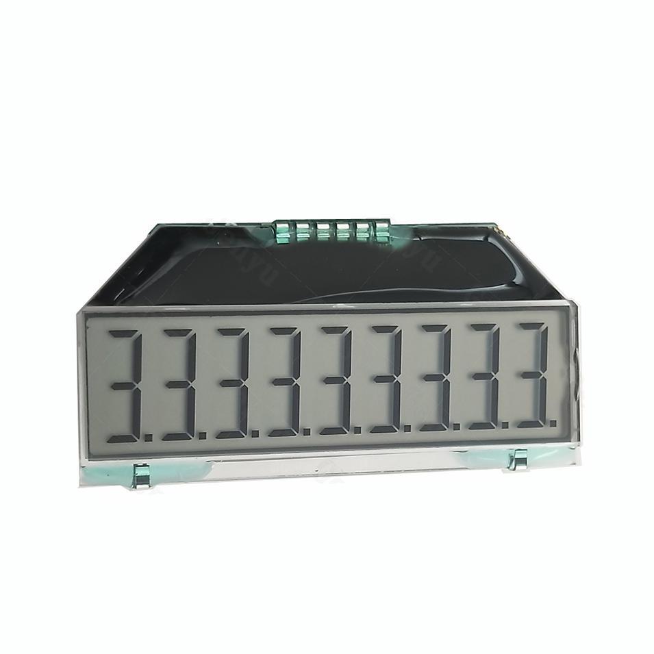 Custom 7 segment LCD Display For Electricity Meter