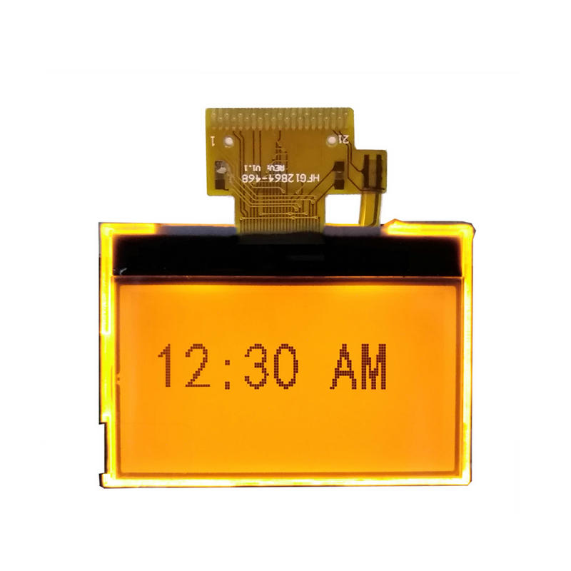128x64 Monochrome lcd Display Module With Orange Backlight