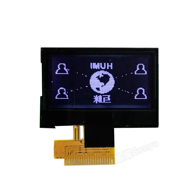 1.3 inch monochrome lcd module 12864 Dot Matrix LCD screen