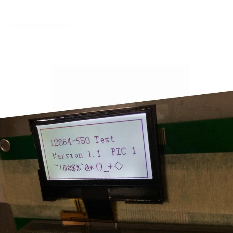 1.3 inch lcd display monochrome FSTN 128x64 Dot Matrix LCD screen