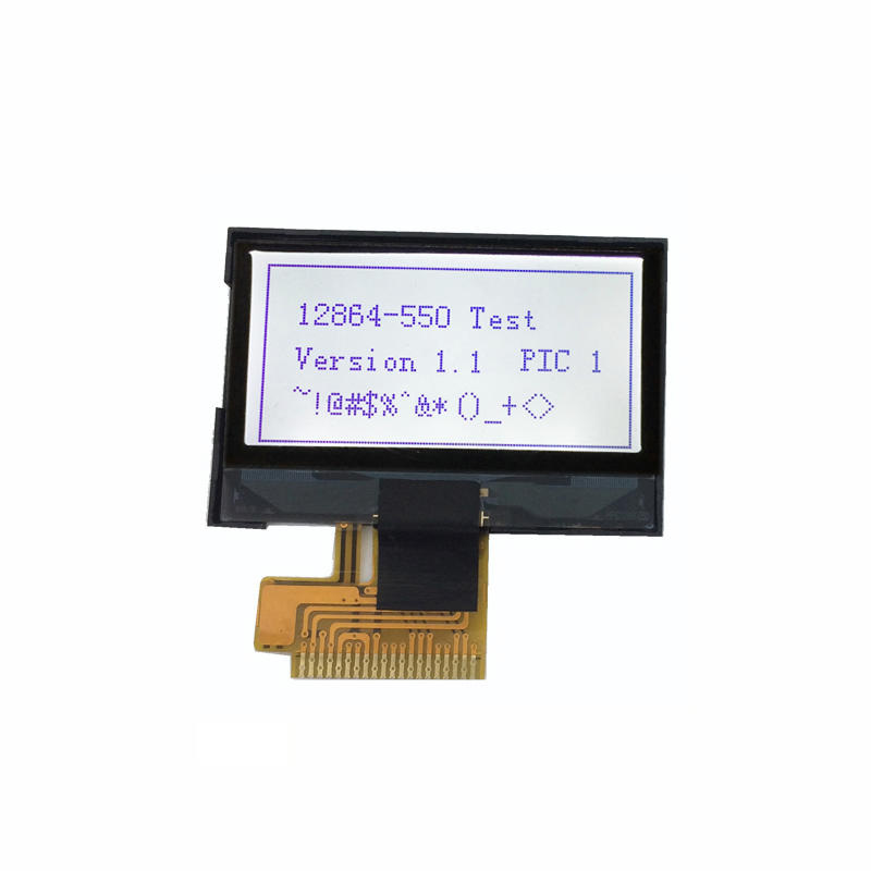 1.3 inch lcd display monochrome FSTN 128x64 Dot Matrix LCD screen
