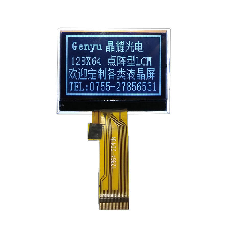custom made lcd display FSTN COG Type 12864 LCD Module