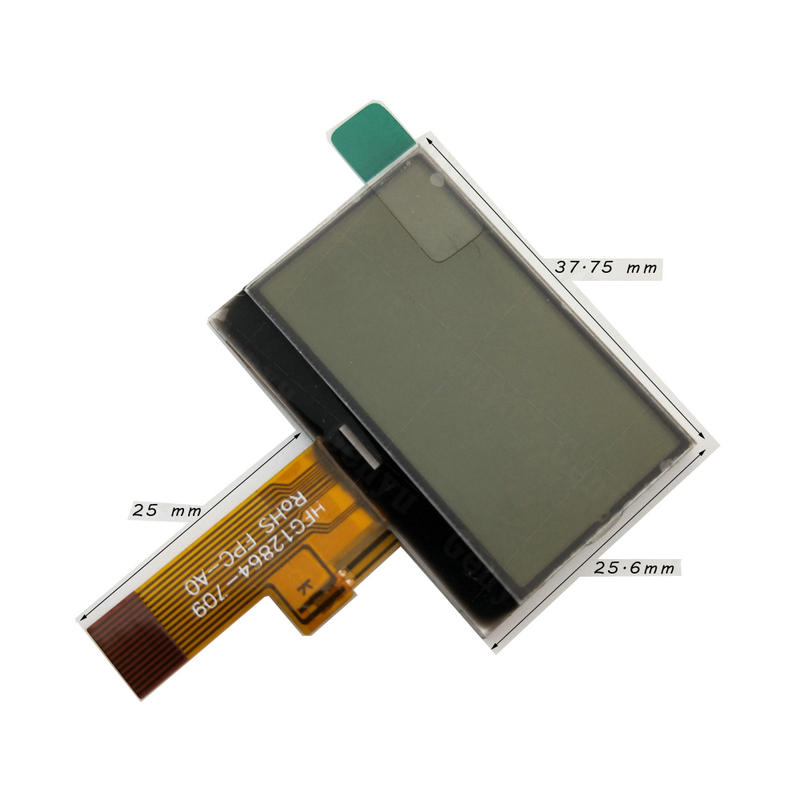 White LED backlight 12864 Screen China lcd manufacturers