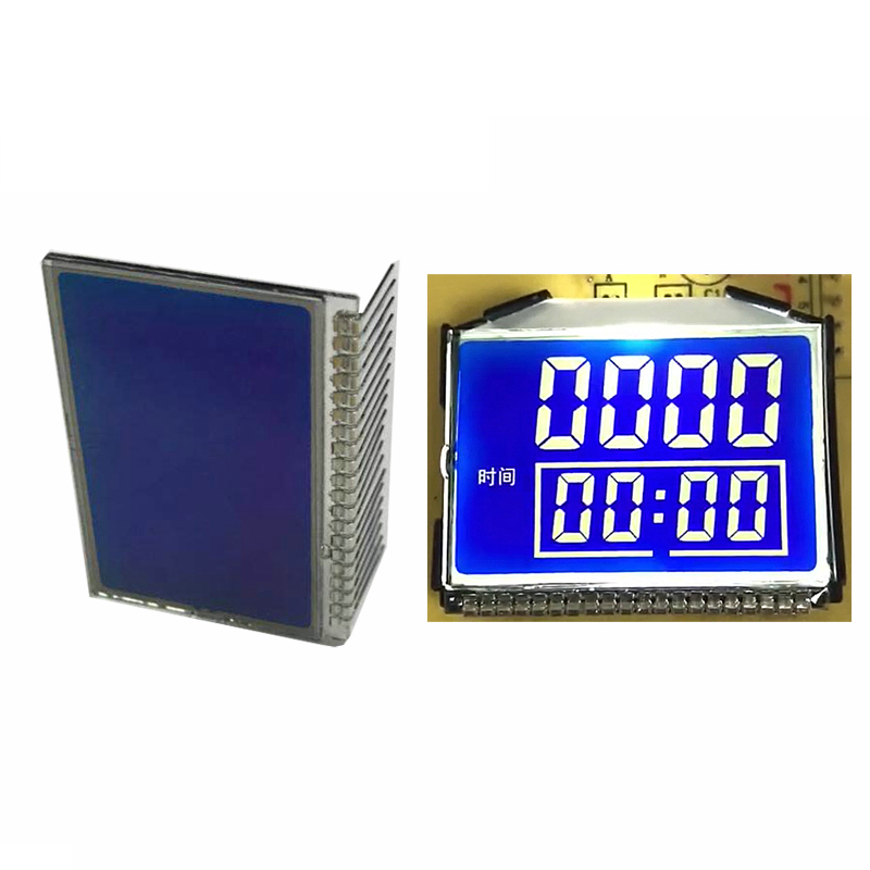 Custom segment lcd display gy03836nm factory for instrumentation-1