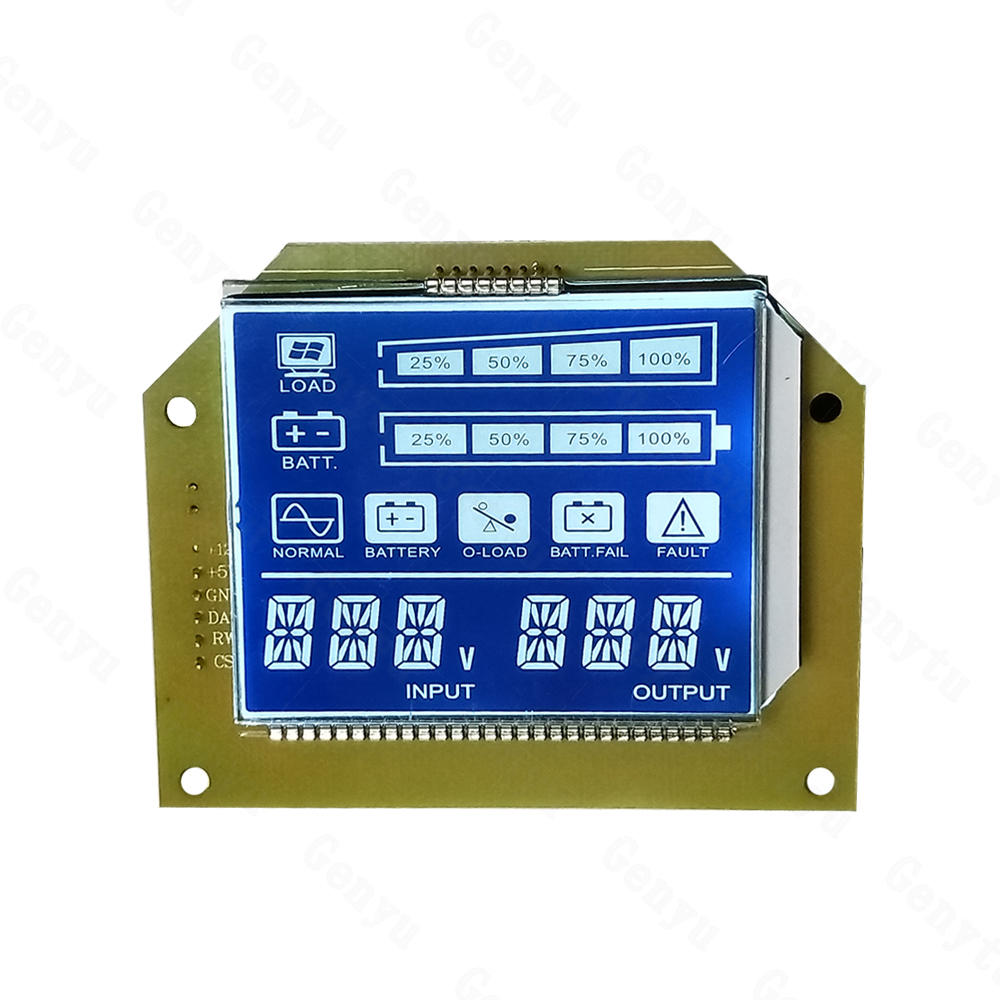 Best LCD Display manufacturer 7 Segment LCD Screen For UPS Power