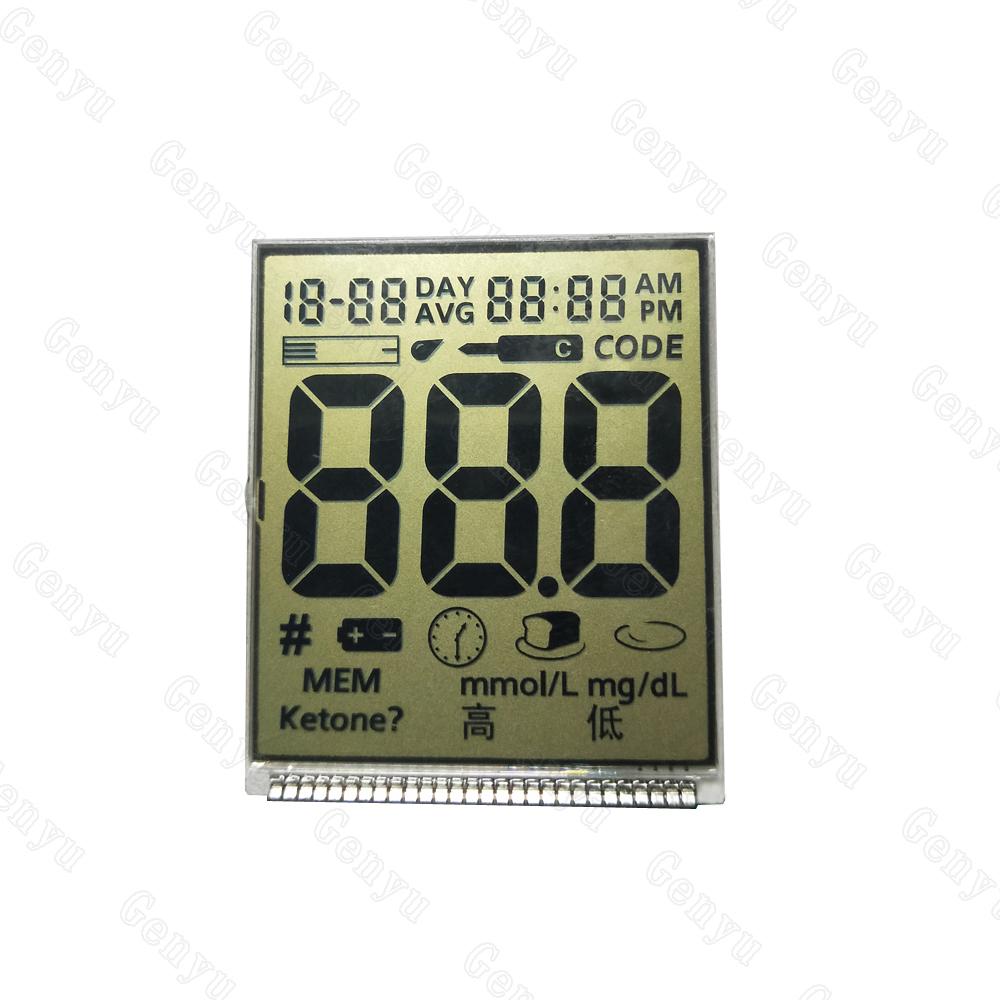 Genyu gy6265 custom lcd screen supply for instrumentation-1