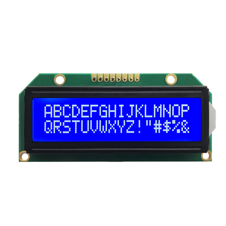 Manufacturer China COB LCD STN Blue Monochrome LCD Screen 1602 Module 16x2 Character Lcd Display For counters