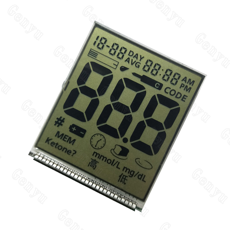 Genyu Top lcd display custom for meter-1