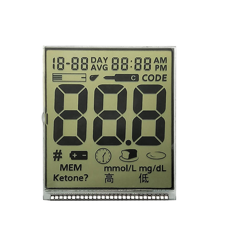 Customize Segmented LCD Display For Medical Instruments