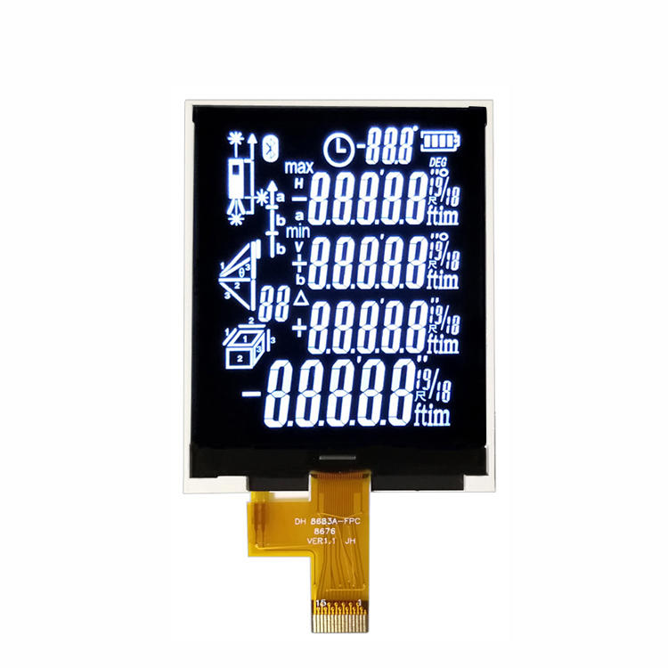 Custom Made BTN 7-Segment LCD Display For Rangefinder LCD