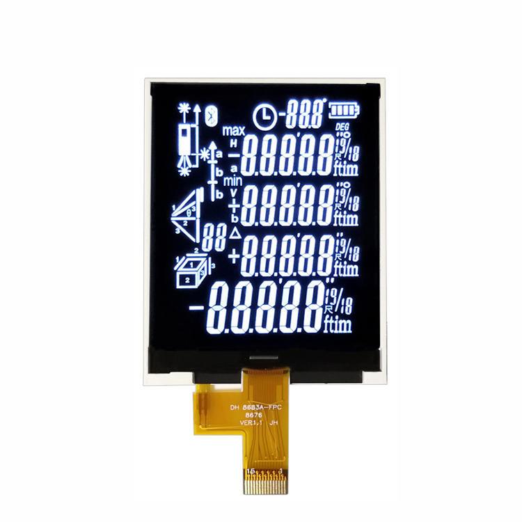 Custom Made BTN 7-Segment LCD Display For Rangefinder LCD