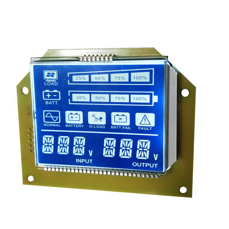 Custom LCD Display 7 Segment lcd Display For UPS